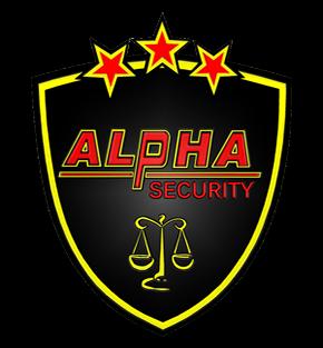 alpha security logotipas